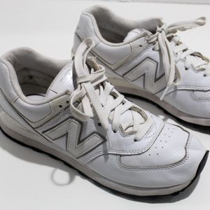 New Balance Sneakers 574 All Leather Running Walk